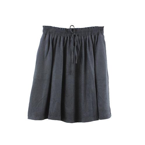 M/L | TWOTONE חצאית דמוי זמש