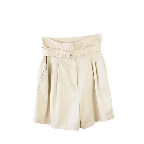 M   MANGO מכנסיים קצרים גבוהים