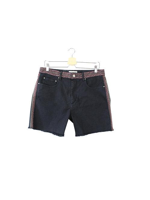 40 -isabel marant מכנסיים קצרים שחורים