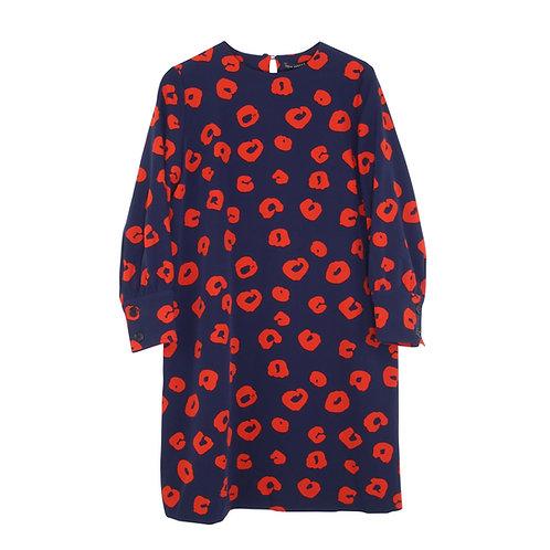M/L | TARA JARMON שמלת פרינט