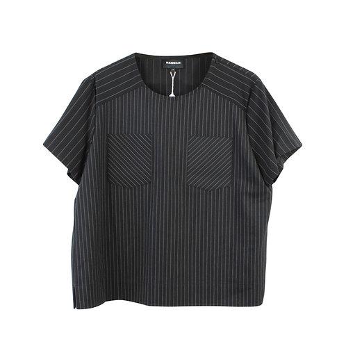 M | HANNAH חולצה מחויטת