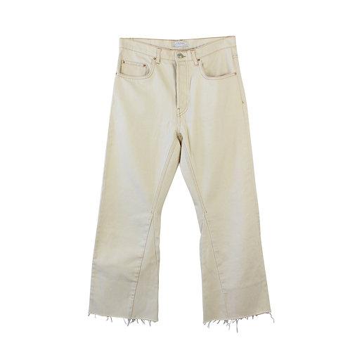 M | ZARA ג׳ינס בהיר מתרחב