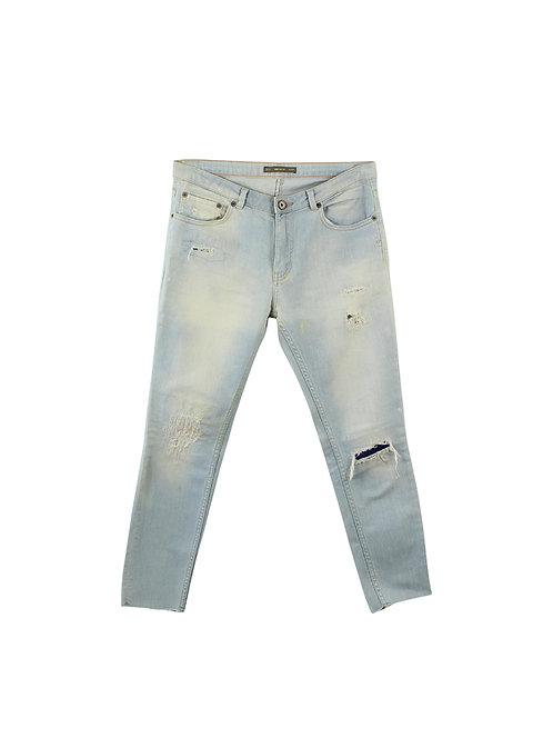 S | PULL&BEAR ג׳ינס ווש בהיר