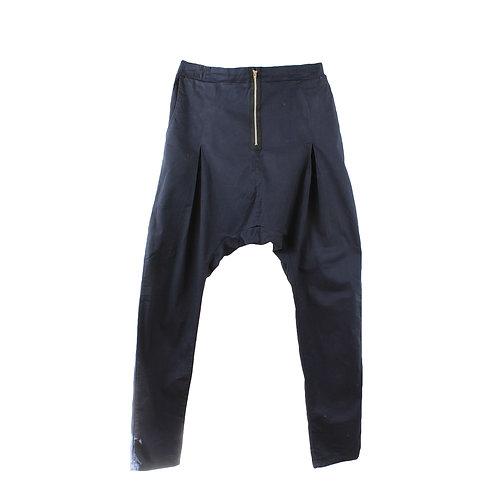 L | ON׳NANOKO  מכנסי שק עם רוכסן
