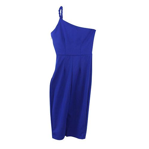 S | LILACH ELGRABLY שמלת ערב אסימטרית