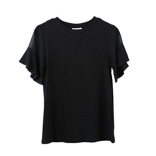 S | TOPSHOP חולצת שרוולים שקופים