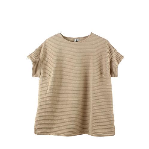 S | asos חולצת ניוד רחבה עם טיקט