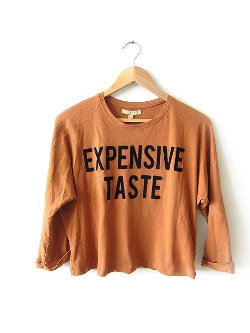 M חולצה בצבע חרדל מידה