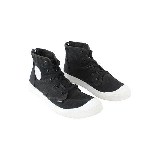 39 | PALLADIUM נעלי פלדיום שחור לבן