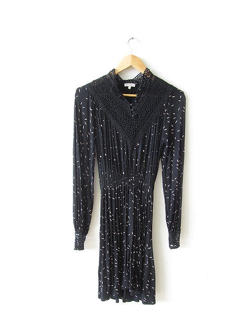 שמלה עם צווארון קרושה מידה 36