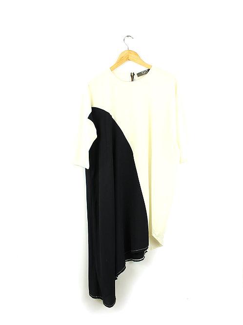 DANA SIDI שמלה אסימטרית