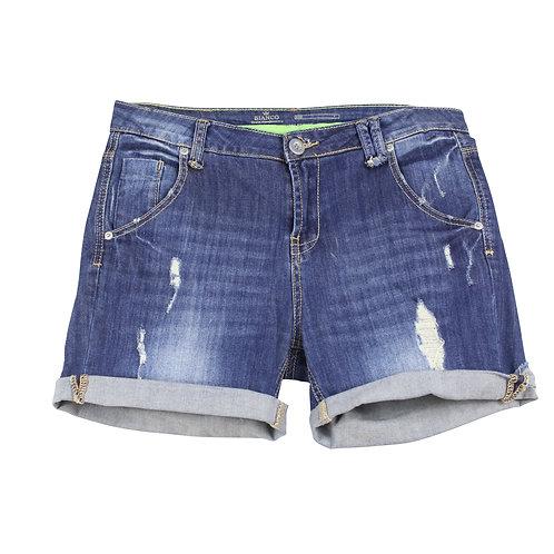 M   BIANCO מכנסי ג׳ינס קצרים