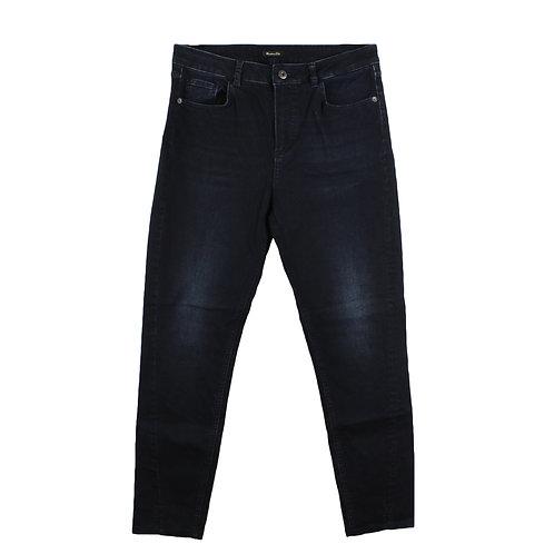 L   Massimo Dutti ג׳ינס עם סיומת שסעים