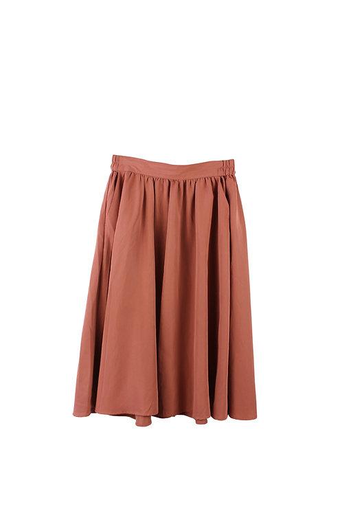 M | GOLF חצאית מידי ורודה