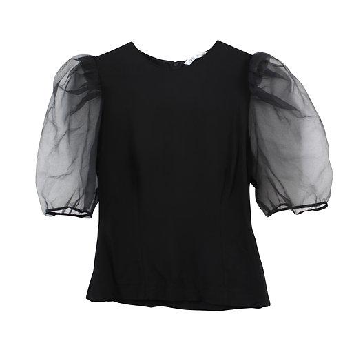 S/M | ZARA חולצת שרוולי אורגנזה