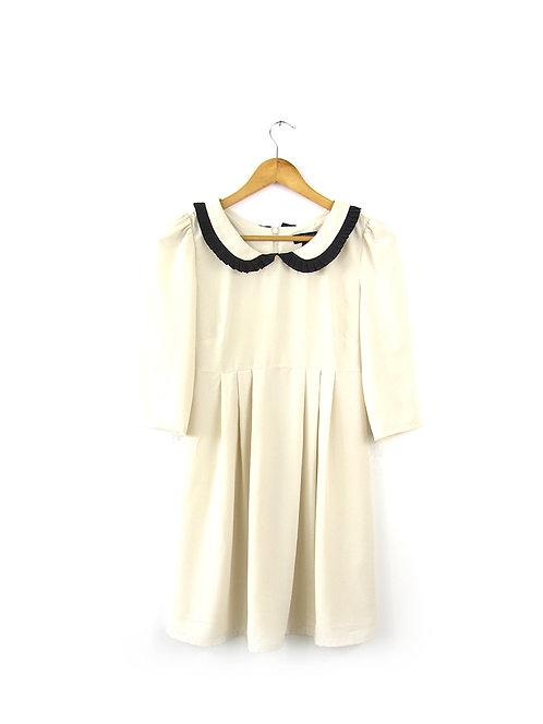 מידה 34 TOP SHOP שמלה עם צווארון