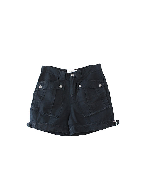 40 | Zadig & Voltaire מכנסיים קצרים שחורים