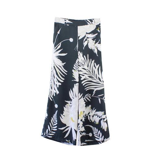 XS | ANNA GLOVER x H&M מכנסיים פרחוניים