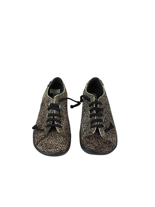 38 -CAMPER נעלי עור פוני מנוקד