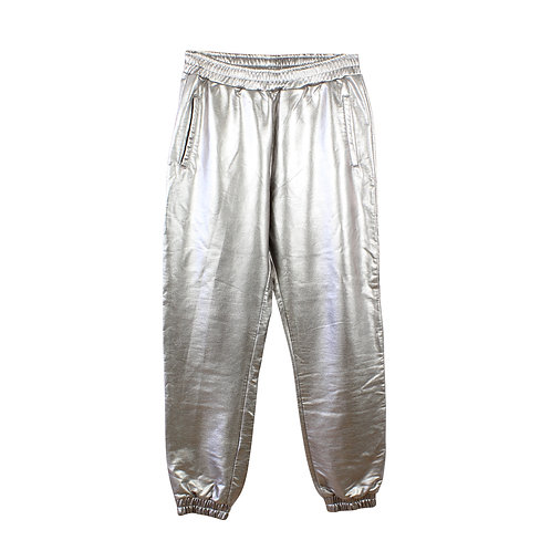 M | TOPSHOP מכנסיים כסופים