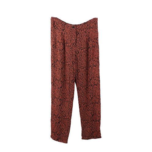 L   American Vintage מכנסיים הדפס בוטני