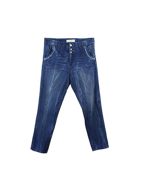 L | HAGITASSA ג׳ינס שטיפה כחול