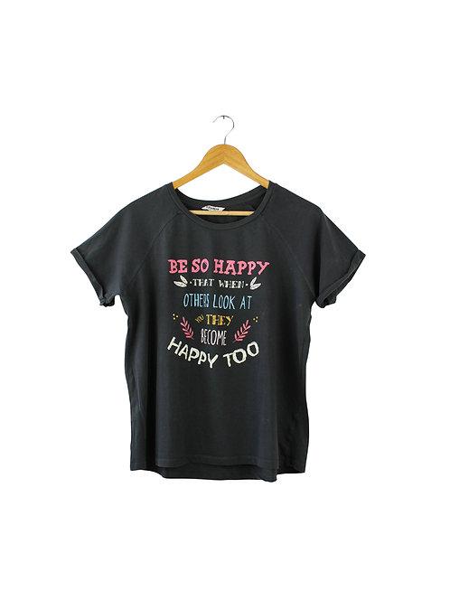 L- BE SO HAPPY טישרט