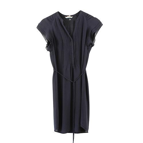 XS   שמלת שיפון כחולה