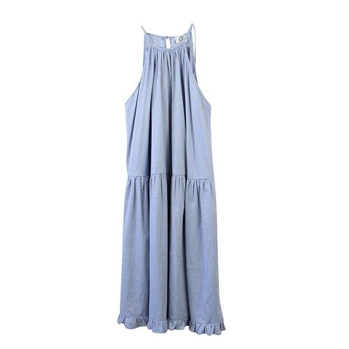 OS | LILACH ELGRABLY שמלת אוברסייז בוהו