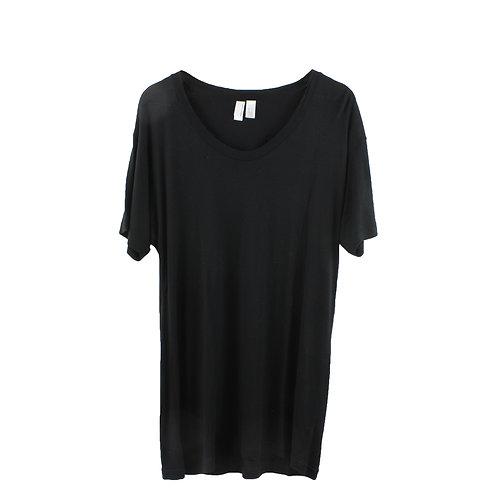 L | American Apparel טישרט שחורה ארוכה