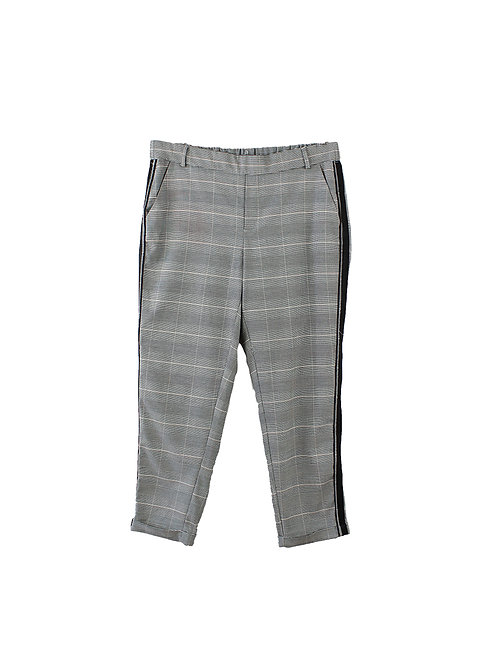 L    ZARA מכנסיים משובצים
