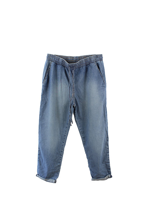 L | מכנסיים דקים