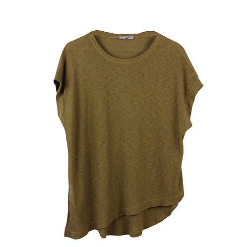 L   ZARA חולצה אסימטרית