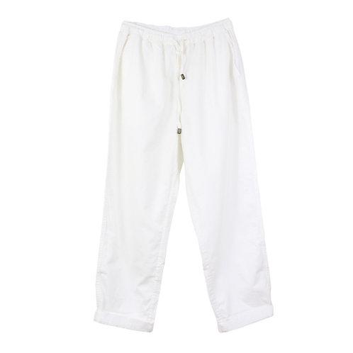 M   AMERICAN VINTAGE מכנסיים לבנים