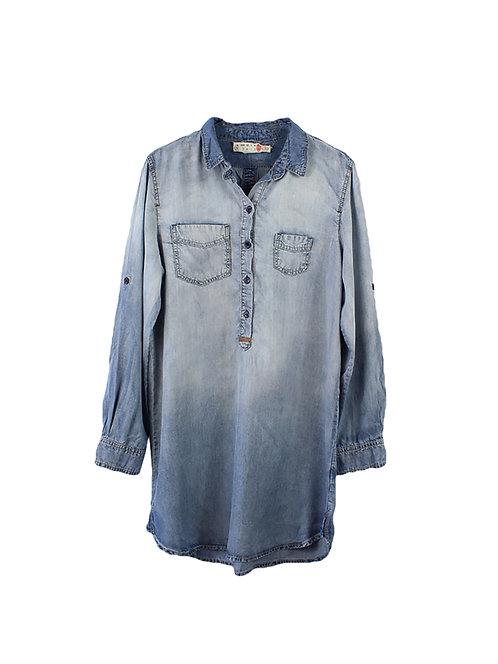 L   SACK'S  שמלת ג׳ינס