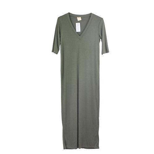 S | YAEL ADMONI שמלת טישרט ארוכה