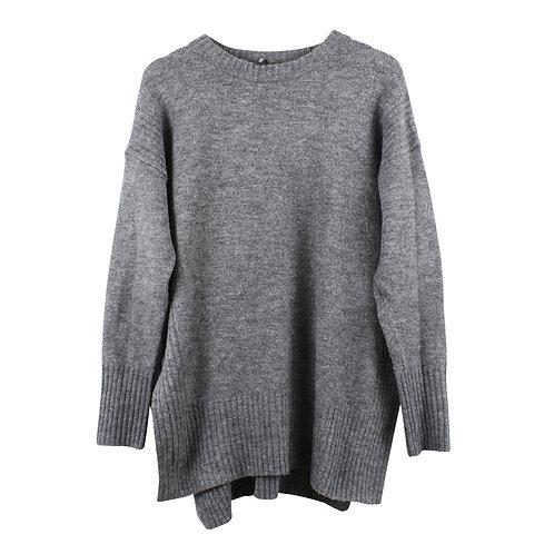 M   H&M סוודר אפור