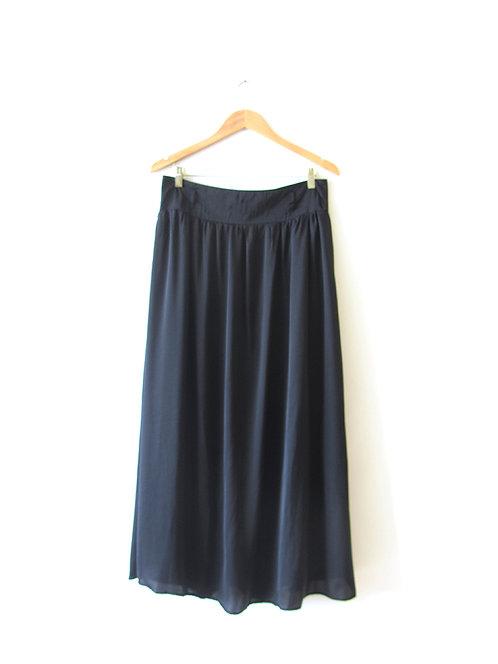 חצאית מקסי שחורה מידה 40