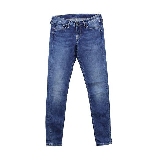 S\M | Pepe Jeans סקיני כחול ווש