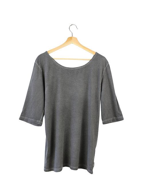 L -MAISON SCOTCH חולצה עם גב קרושה