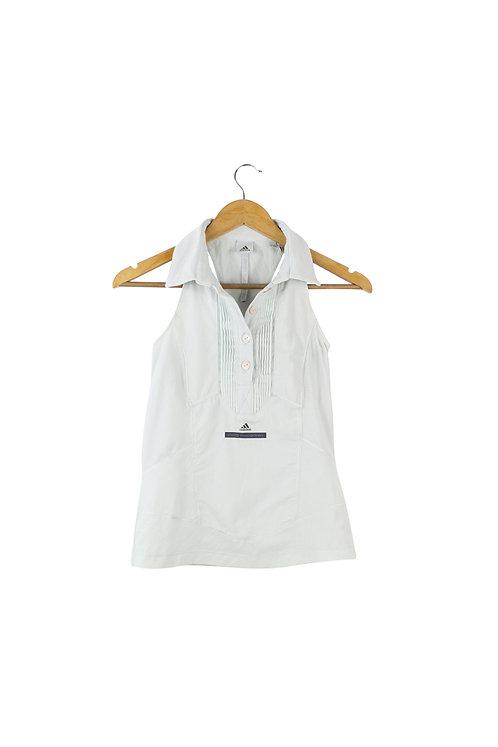 XS STELLA MCCARTNEY ADIDAS חולצת צווארון ספורטיבית