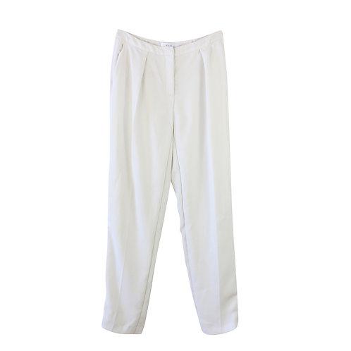 M   REISS מכנסיים מחוייטים לבנים