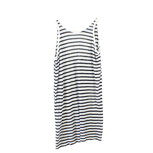 M | T By Alexander Wang Striped Tank Dress