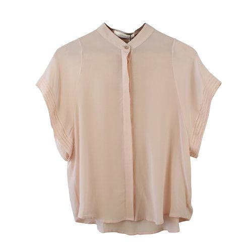 S | GINLEE חולצת משי