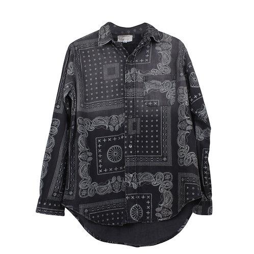 M | CURRENT/ELLIOTT חולצת פרינט בנדנה