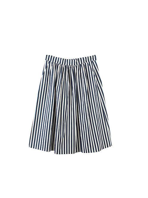 L | ZARA חצאית כיסים