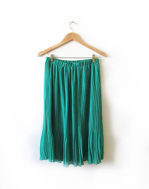 S חצאית פליסה מידה