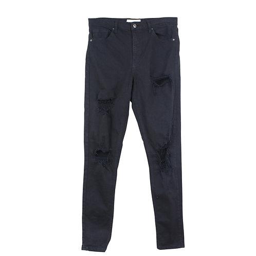 M\L | TOPSHOP ג׳ינס ג׳יימי קרעים
