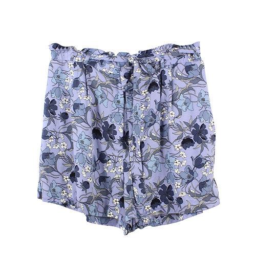 XL   מכנסיים קצרים פרחוניים
