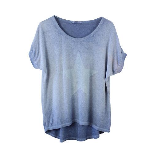 M |  חולצת סריג ווש